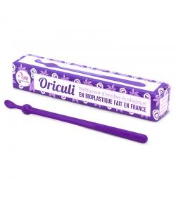 Oriculi violet nettoyeur d'oreilles écologique en bioplastique - 1 pièce - Lamazuna