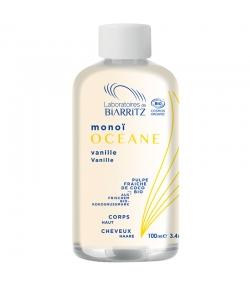 Huile de soin corps & cheveux BIO monoï & vanille des îles - 100ml - Laboratoires de Biarritz