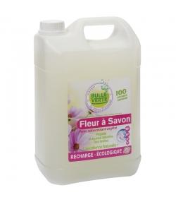 Lessive liquide fleur à savon écologique géranium, shiu, orange & lavandin - 100 lavages - 5l - Bulle Verte