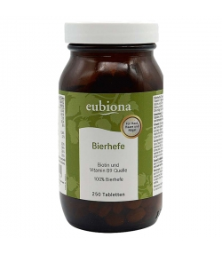 Bierhefe-Tabletten - 100g - Eubiona