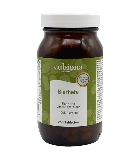 Bierhefe - 250 Tabletten - 100g - Eubiona