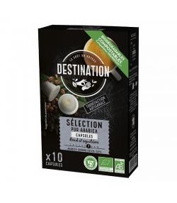 Capsules de café Sélection Pur Arabica BIO - 10x5,5g - Destination