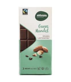 Chocolat spécial amandes entières BIO - 100g - Naturata