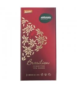 Chocolat noir 70% BIO Brésil - 80g - Naturata