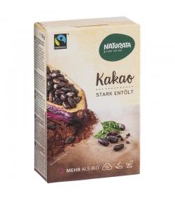 Cacao en poudre fortement dégraissé BIO - 125g - Naturata