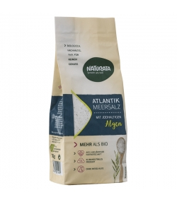 Atlantik Meersalz mit jodhaltigen BIO-Algen - 500g - Naturata