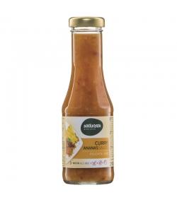 Sauce grillades et assaisonnement Curry-Ananas BIO - 250ml - Naturata