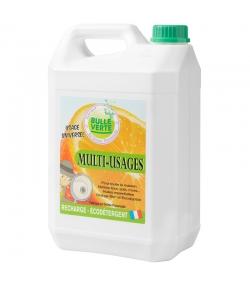 Multi-usages écologique orange & eucalyptus - 5l - Bulle Verte