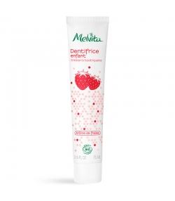 Dentifrice enfant BIO fraise sans fluor - 75ml - Melvita