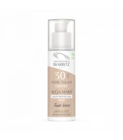 Crème solaire visage teintée ivoire BIO IP 30 algue rouge - 50ml - Laboratoires de Biarritz Alga Maris
