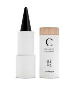 Khôl kajal BIO N°15 Noir - 3,5g - Couleur Caramel