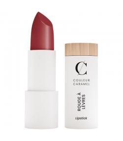 Rouge à lèvres satiné BIO N°223 Vrai rouge - 3,5g - Couleur Caramel