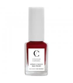 Nagellack matt N°08 Rot - 11ml - Couleur Caramel