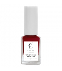 Vernis à ongles mat N°08 Rouge - 11ml - Couleur Caramel