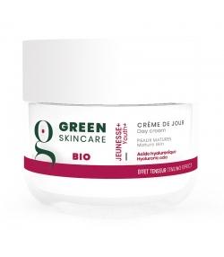 Crème de jour BIO acide hyaluronique - 50ml - Green Skincare Jeunesse Plus