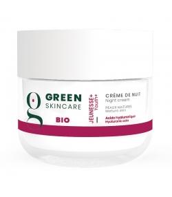Crème de nuit BIO acide hyaluronique - 50ml - Green Skincare Jeunesse+