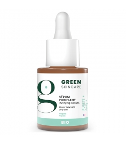 Sérum purifiant BIO acide salicylique - 15ml - Green Skincare Pureté+