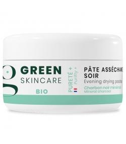 Pâte asséchante soir BIO charbon noir - 15ml - Green Skincare Pureté+
