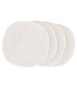Lot de 4 lingettes démaquillantes en coton - Green Skincare