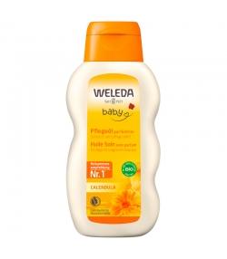 Huile soin sans parfum bébé BIO calendula - 200ml - Weleda