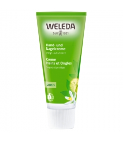 Crème mains & ongles BIO citrus - 50ml - Weleda