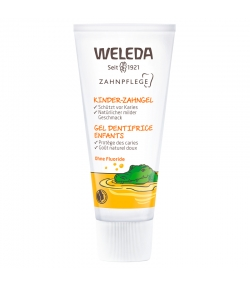 Gel dentifrice enfants BIO calendula - 50ml - Weleda