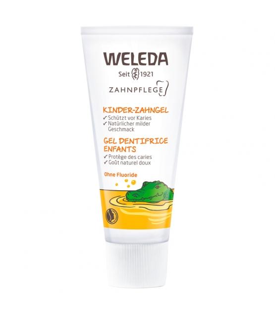 Gel dentifrice enfants BIO calendula - 50ml - Weleda