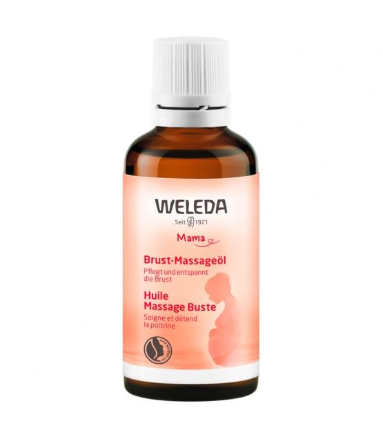 Huile massage buste BIO amande - 50ml - Weleda
