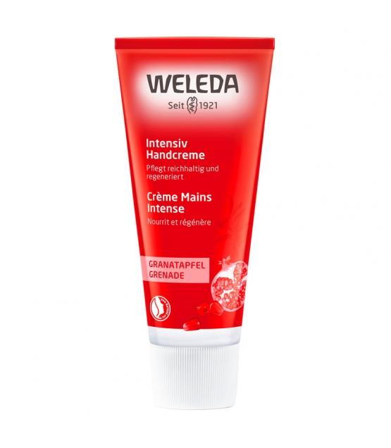 Crème pour les mains intense BIO grenade - 50ml - Weleda