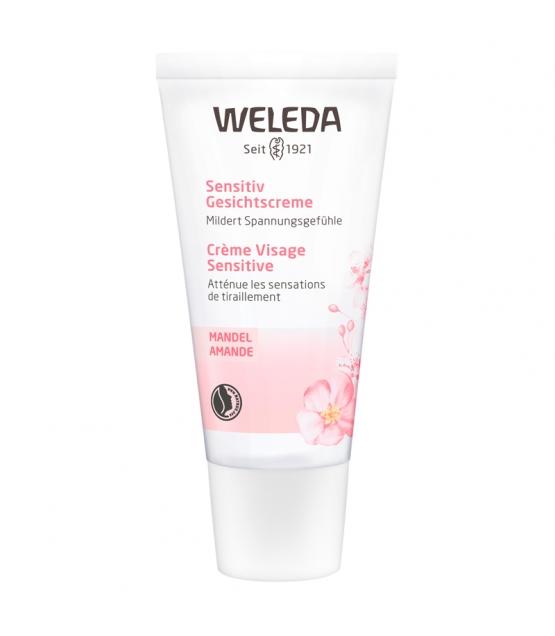 Crème visage sensitive BIO amande - 30ml - Weleda
