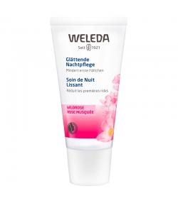 Soin de nuit lissant BIO rose musquée - 30ml - Weleda