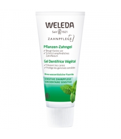 Gel dentifrice végétal BIO camomille & myrrhe - 75ml - Weleda