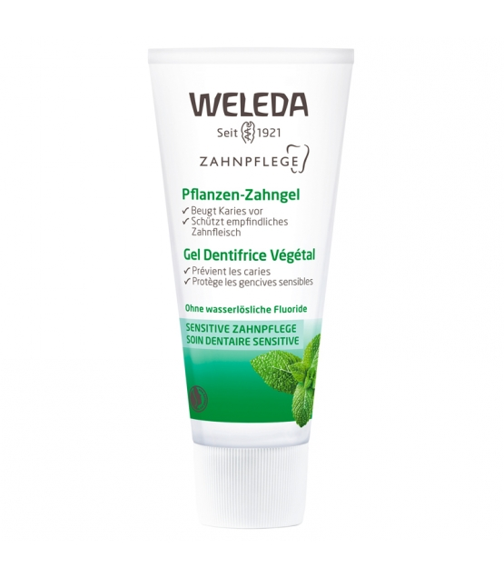 BIO-Pflanzen-Zahngel Kamille & Myrrhe - 75ml - Weleda