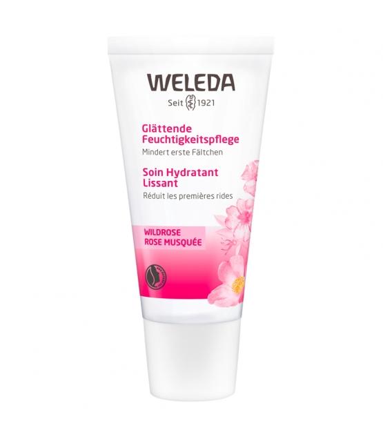 Soin hydratant lissant BIO rose musquée - 30ml - Weleda