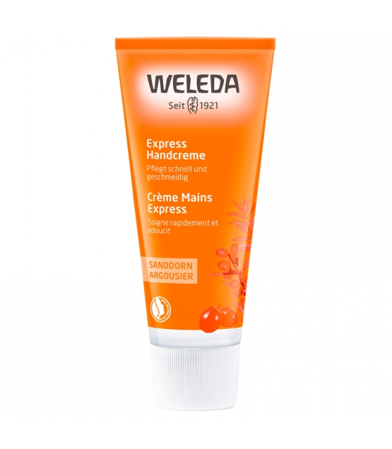 Express BIO-Handcreme Sanddorn - 50ml - Weleda