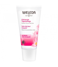 Glättende BIO-Tagespflege Wildrose - 30ml - Weleda