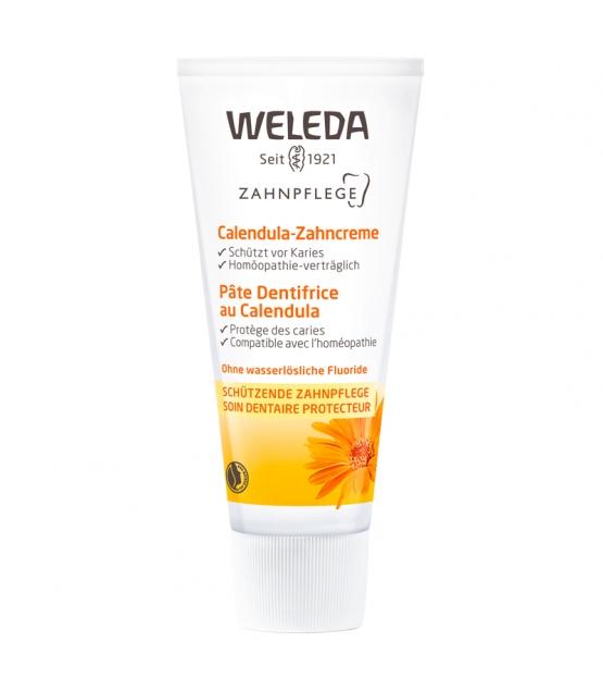 Pâte dentifrice BIO calendula - 75ml - Weleda
