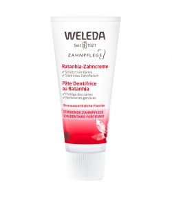 Pâte dentifrice BIO ratanhia - 75ml - Weleda