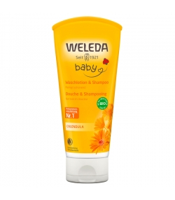 Baby BIO-Waschlotion & Shampoo Calendula - 200ml - Weleda