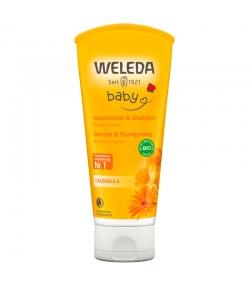 Douche & shampooing bébé BIO calendula - 200ml - Weleda