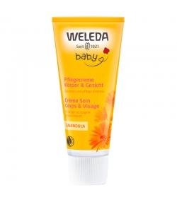 Crème soin corps & visage bébé BIO calendula - 75ml - Weleda