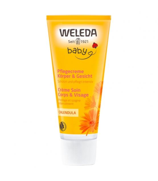 Baby BIO-Pflegecreme für Körper & Gesicht Calendula - 75ml - Weleda