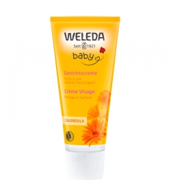 Crème visage bébé BIO calendula - 50ml - Weleda