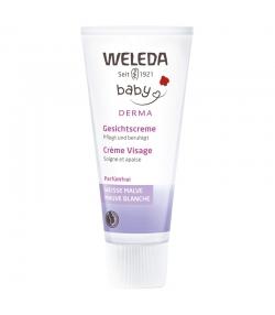 Crème visage bébé BIO mauve blanche - 50ml - Weleda