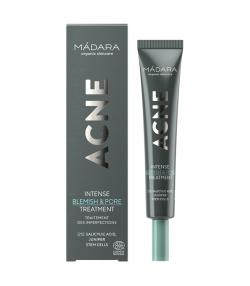 Natürliche intensive Behandlung für unreine Haut Argan & Tea Tree - 20ml - Mádara Acne