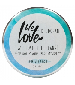 Déodorant crème Forever Fresh naturel agrumes & herbes fraîches - 48g - We Love The Planet