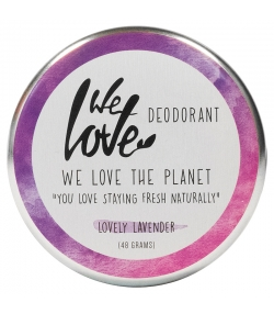 Natürliche Deo Creme Lovely Lavender wild Lavendel - 48g - We Love The Planet