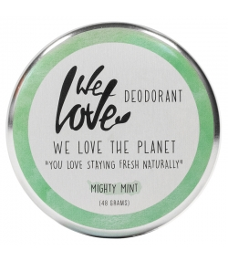 Déodorant crème Mighty Mint naturel menthe & romarin - 48g - We Love The Planet