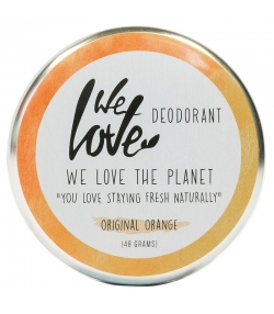 Déodorant crème Original Orange naturel mandarine espagnole - 48g - We Love The Planet