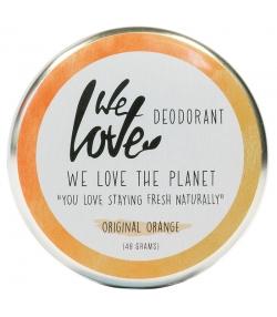 Natürliche Deo Creme Original Orange spanischen Mandarine - 48g - We Love The Planet